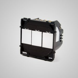 Skārienekrāns 3-Ķēdes slēdzis, max1000W/LED 500W