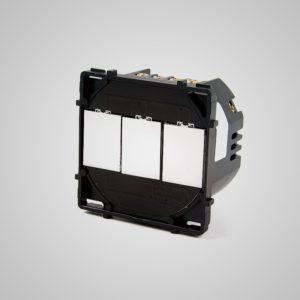 Skārienekrāna 3-cilpa (-Cross) slēdzis, max1000W/LED 500W