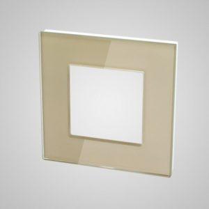 1. Nefija stikla rāmis, 86 * 86mm