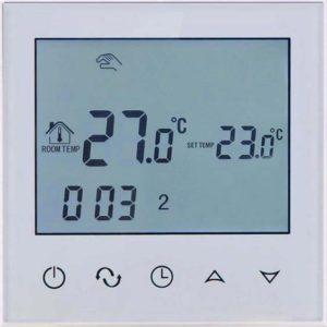 Termostats apsildāmās grīdas, 16A, balta, 86 * 86mm