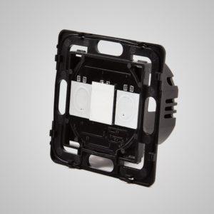 Skārienekrāna 1-Ķēdes Slēdzis, ar tālvadības iespēju, Max 1000W/LED 500W, Content