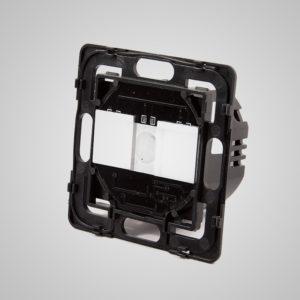 Skārienekrāna 2-Ķēdes slēdzis, max500W/LED 300W, ar tālvadības iespēju
