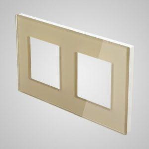 2-NE stikla rāmis, zelts, 157 * 86mm
