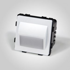 Apgaismots 1 w, silti balts, balts