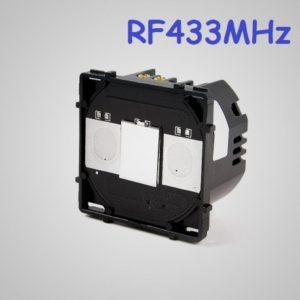 Skārienekrāna 1-Ķēdes RF433 Slēdzis