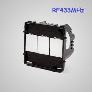 Skārienekrāna 3-Ķēdes RF433 Slēdzis